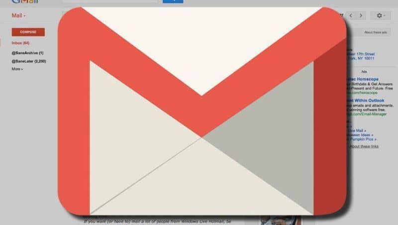 correo gmail bandeja entrada