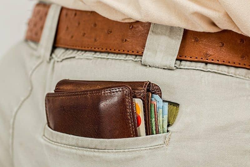 cartera tarjeta de credito dinero