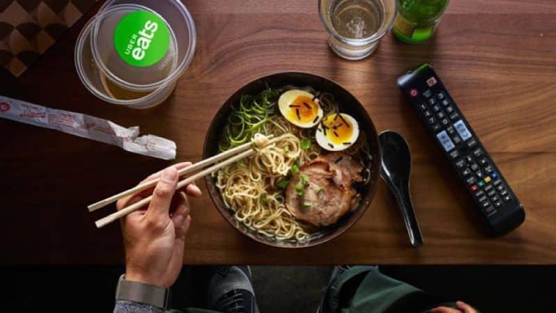 comida oriental de uber eats