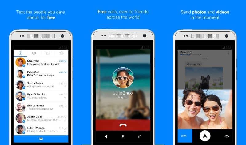 desactivar videollamadas facebook messenger