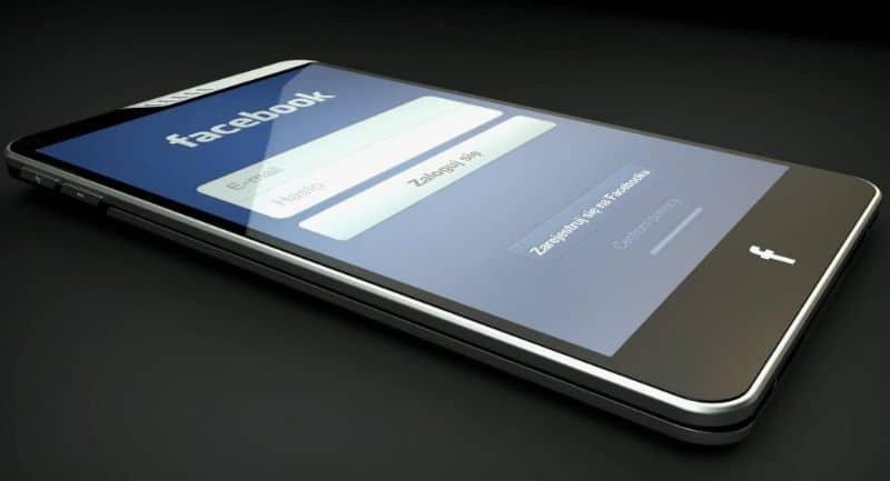 tablet con facebook app