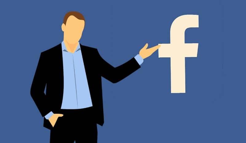 facebook letrero silueta persona
