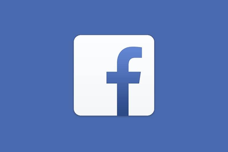 facebook logo azul con blanco