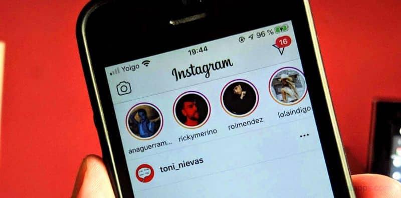 movil historias instagram actualizacion
