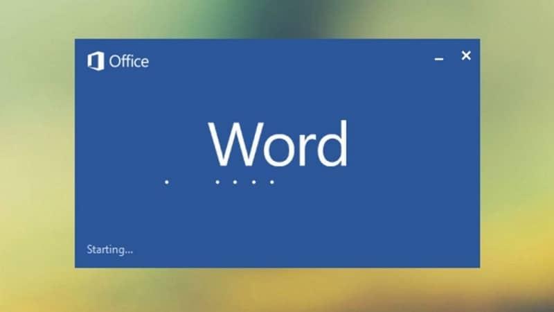 abriendo word