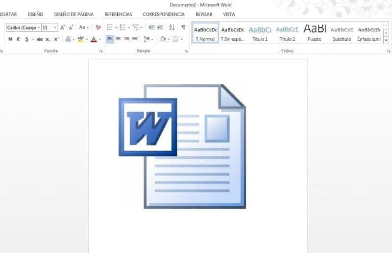 insertar imagen word