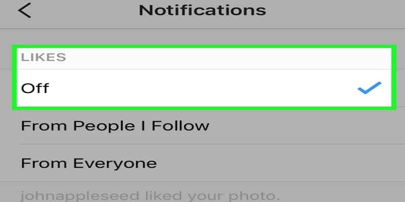 notificaciones desactivadas instagram