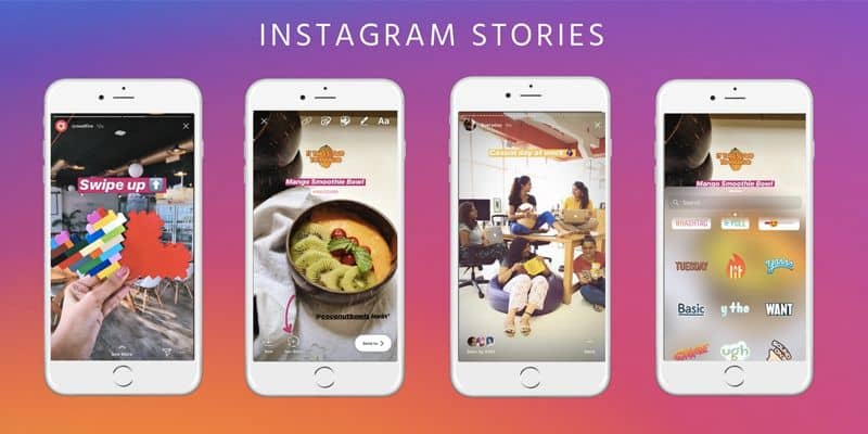 historias de instagram fondo colorido