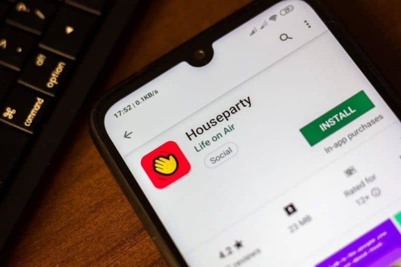 houseparty play store