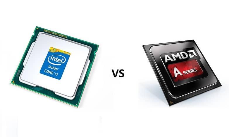 procesador intel vs amd