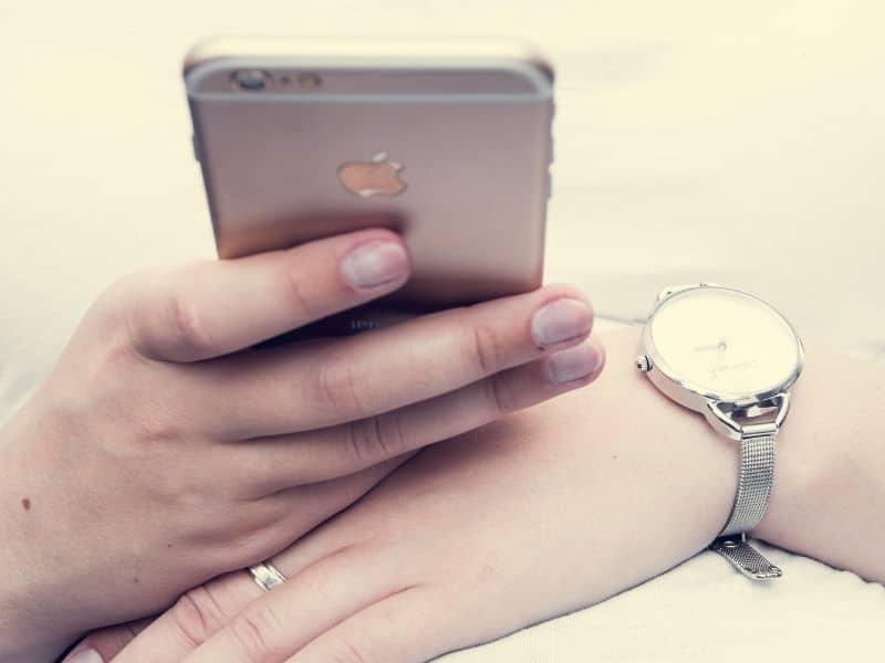 iphone reloj