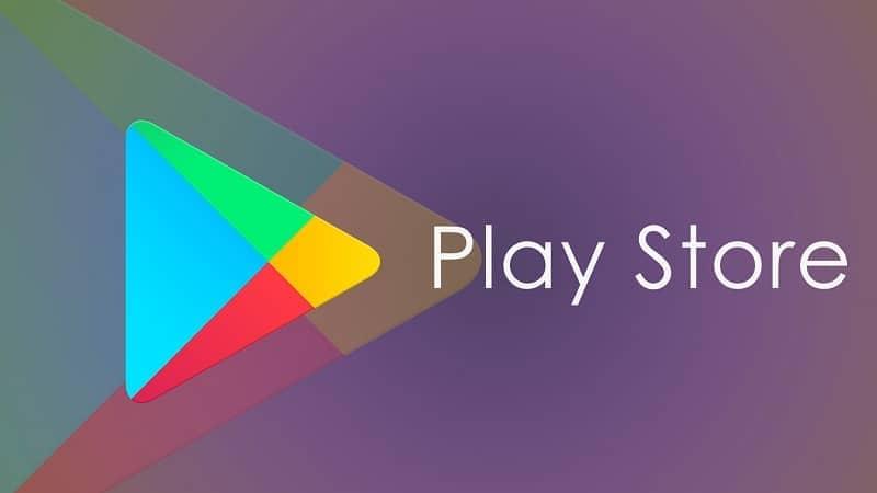 logo play store minimalista
