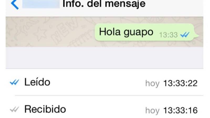 mensaje leido whatsapp