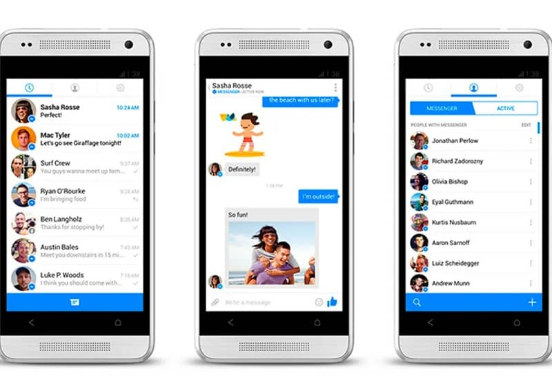 chat de messenger facebook