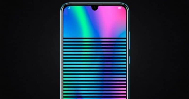 pantalla colorida movil