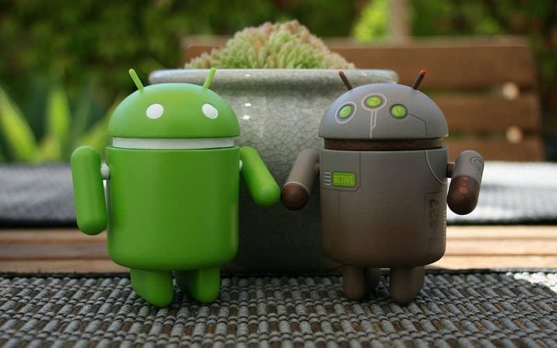 android de la mano