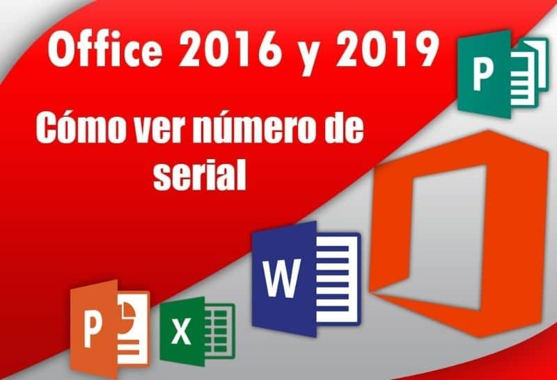 ver numero seriel office