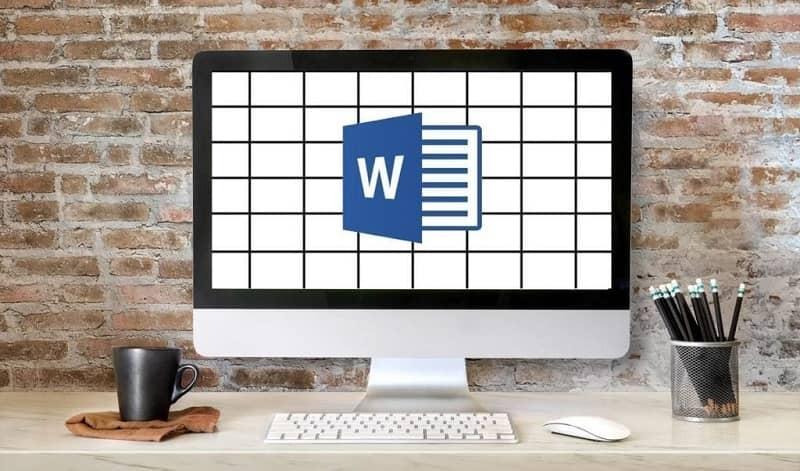 escritorio word