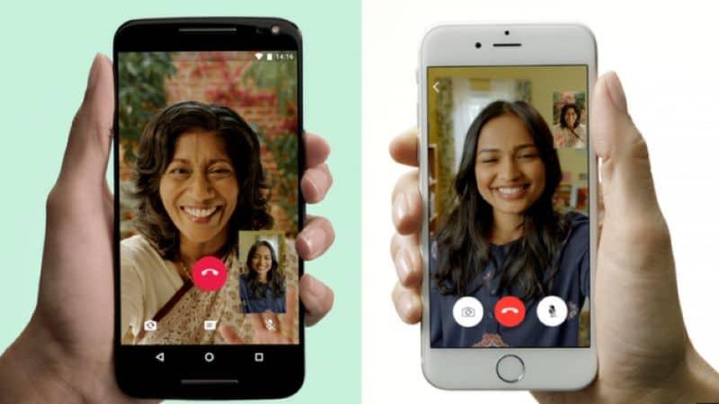 whatsapp videollamada pareja