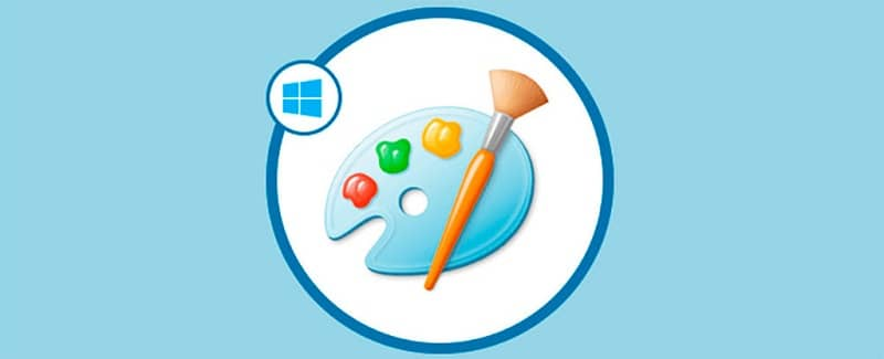 logo de paint en windows