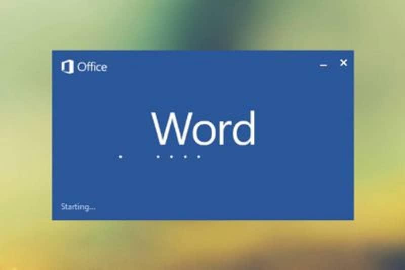 comenzando word