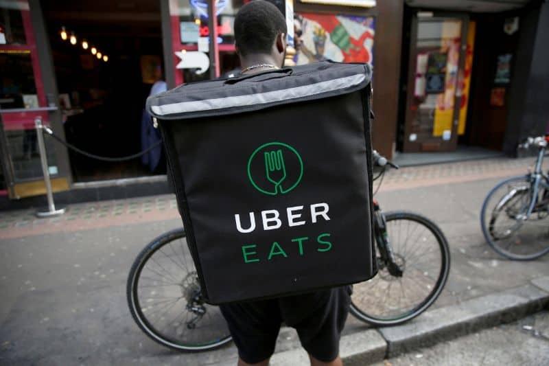 uber eats comida domicilio