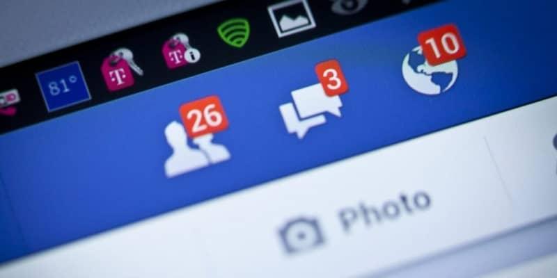 solicitudes notificaciones facebook