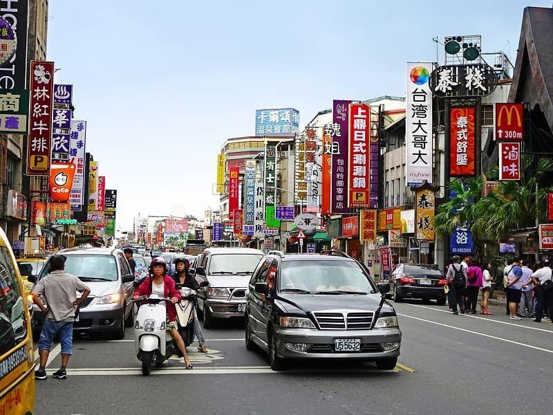 autos ciudad china