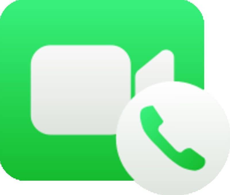 videollamada facetime icono