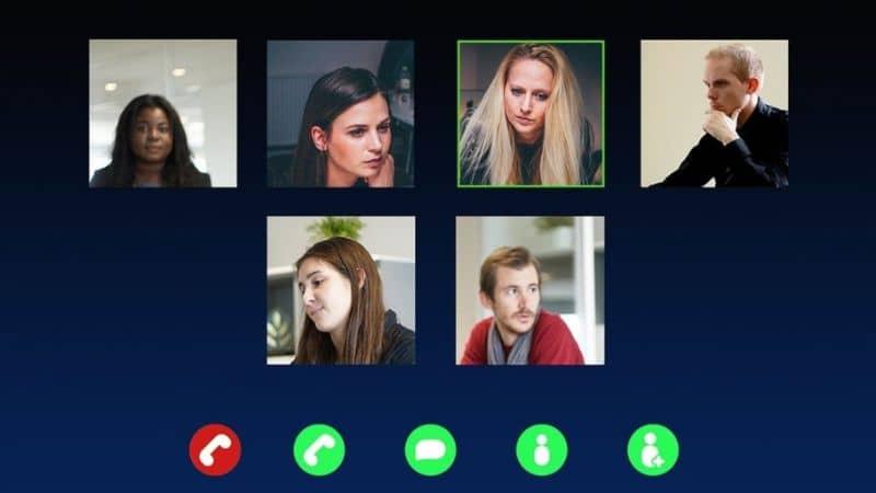 videollamada grupal facetime