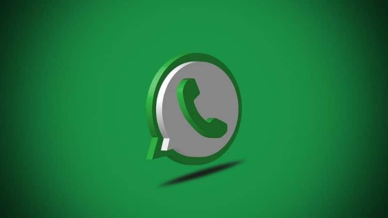 icono logo whatsapp 3d