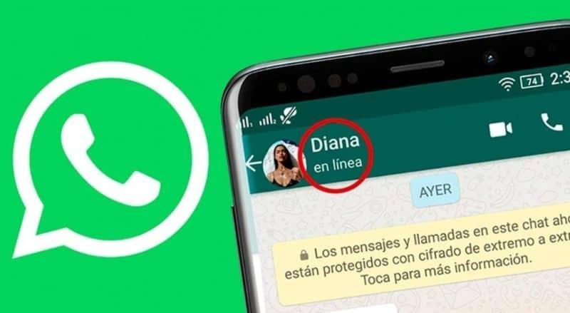 whatsapp en linea significado
