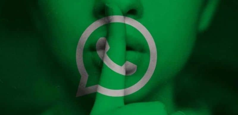 persona en silencio whatsapp