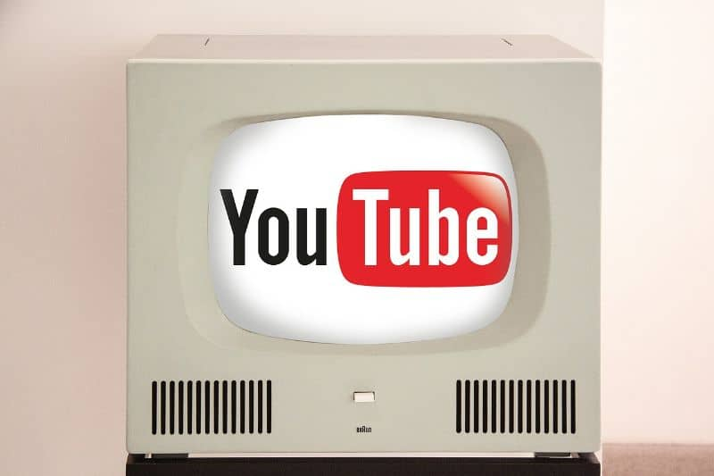 youtube en tv