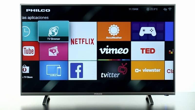 aplicaciones en smart tv