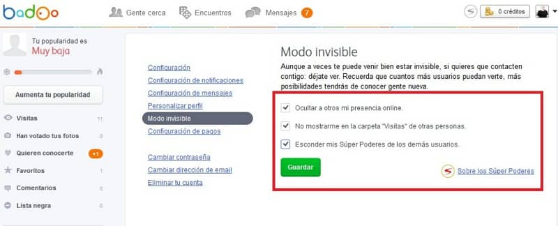 On detect badoo invisible How do