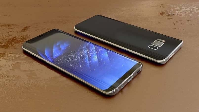 celular fondo de pantalla sobre mesa