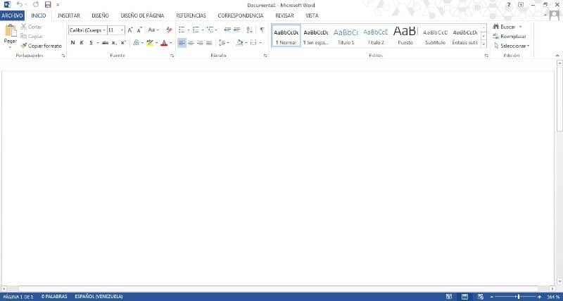 eliminar una hoja de trabajo en word