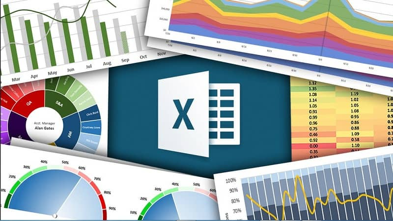 multiples graficas excel