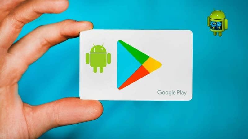 tarjeta google play android
