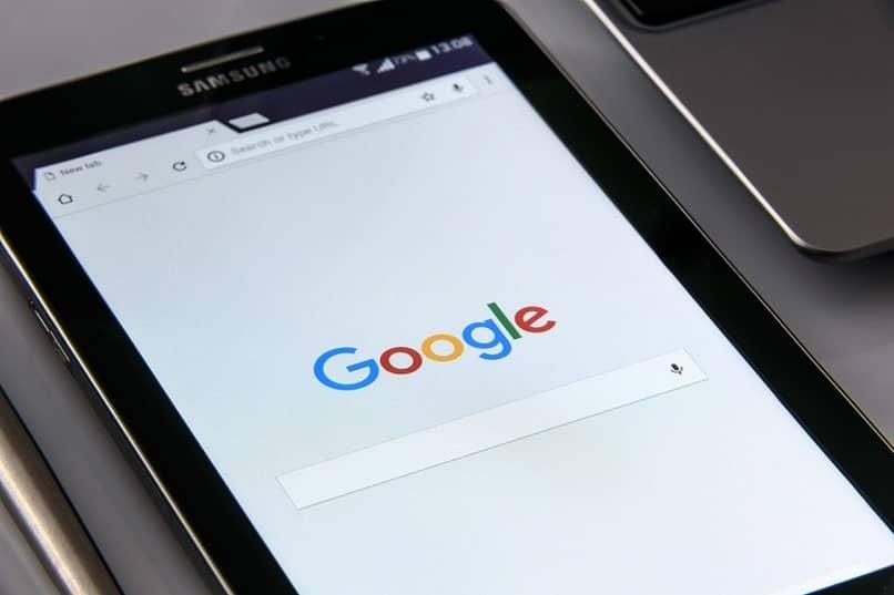 inicio buscar google samsung