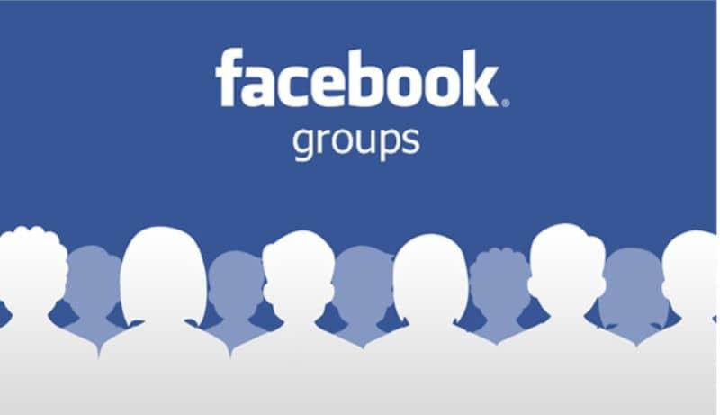 compartir en grupos de facebook