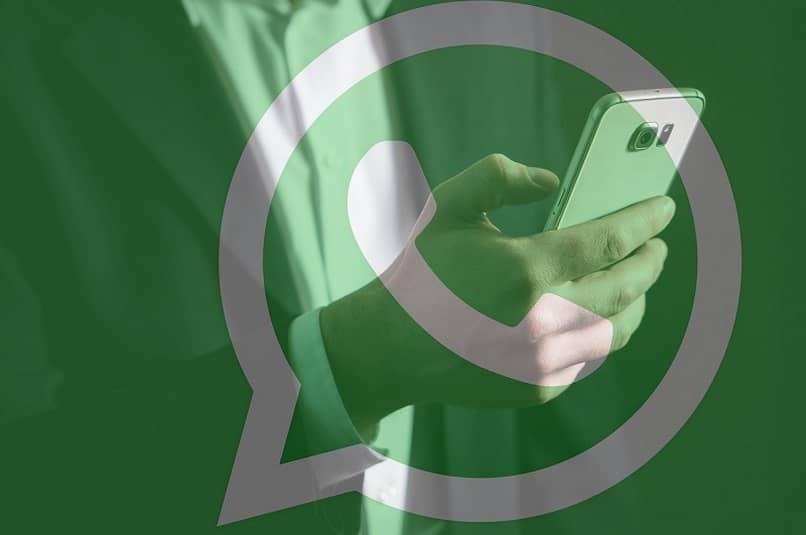 icono whatsapp fondo persona