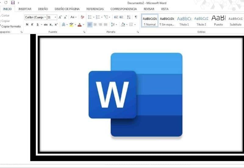 insertar logo de word dentro del programa word