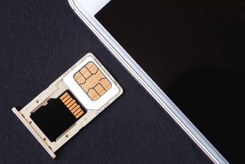 bandeja memoria micro sd y chip
