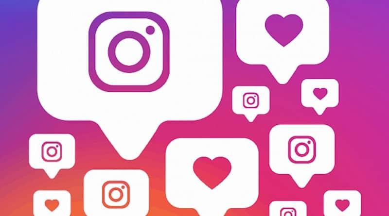 varias notificaciones de instagram