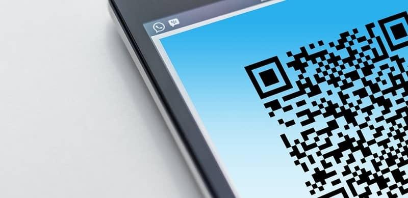 cámara frontal escanear codigo whatsapp