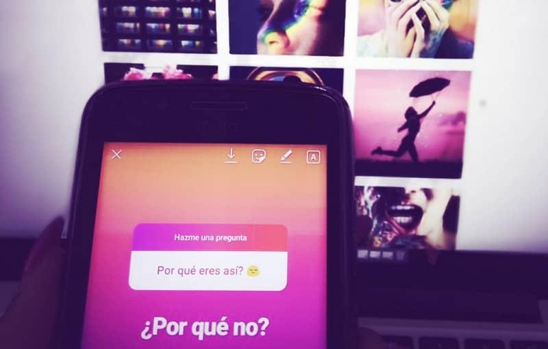 preguntas en historias de instagram