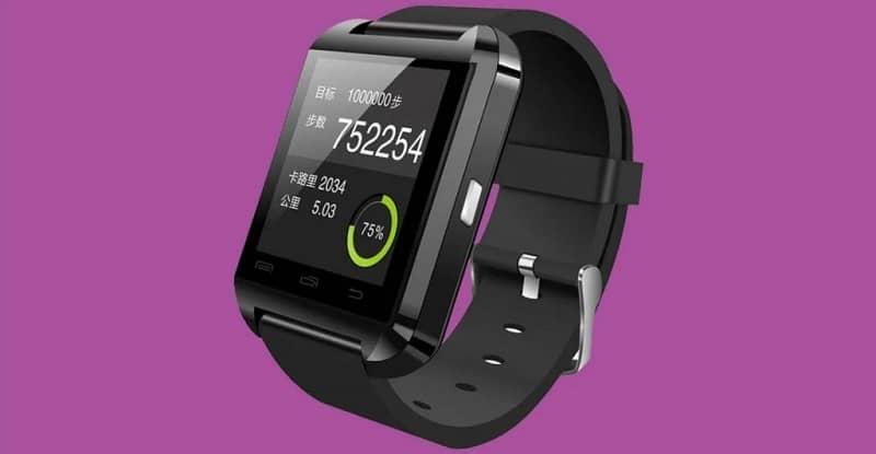 smartwatch encendido
