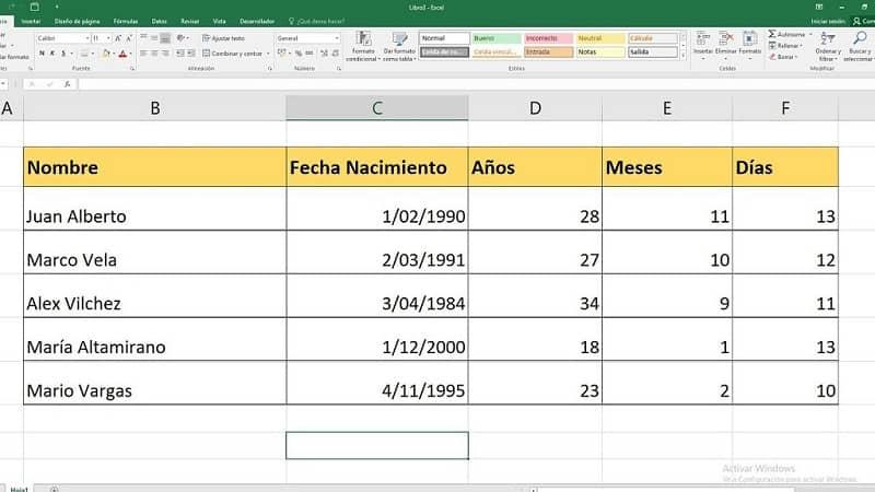 Cómo Calcular Años Meses Días Horas Minutos Y Segundos Entre Dos Fechas En Excel Calcular Tiempo Ejemplo Descubre Cómo Hacerlo